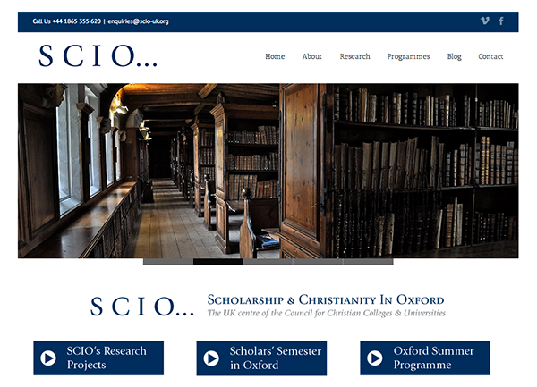 SCIO-web